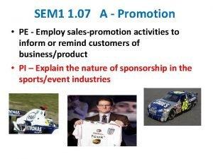 SEM 1 1 07 A Promotion PE Employ