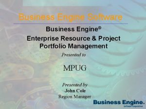 Business Engine Software Business Engine Enterprise Resource Project