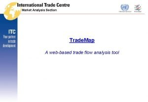 Market Analysis Section Trade Map A webbased trade