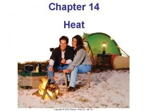 Chapter 14 Heat Units of Chapter 14 Heat