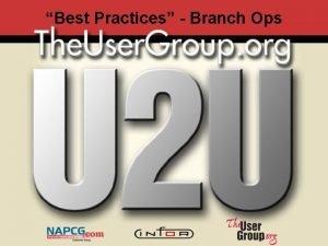Best Practices Branch Ops Sx e AIM Grant