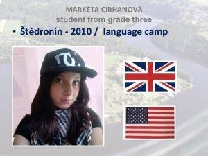 MARKTA CIRHANOV student from grade three tdronn 2010