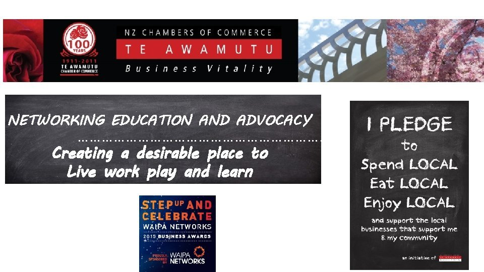 Bu NETWORKING EDUCATION AND ADVOCACY Creating a desirable