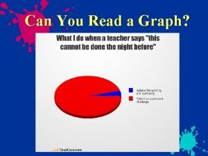 Can You Read a Graph Can You Read