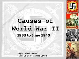 Causes of World War II 1933 to June