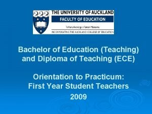 Bachelor of Education Teaching and Diploma of Teaching