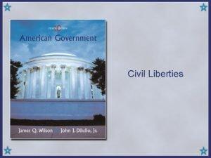 Civil Liberties Copyright Houghton Mifflin Company All rights