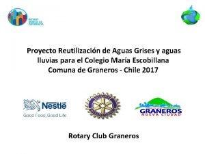 Proyecto Reutilizacin de Aguas Grises y aguas lluvias