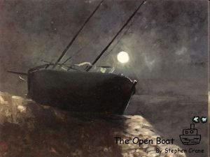 The Open Boat By Stephen Crane Authors background