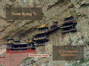 Xuan Kong Si Hacer click para continuar El