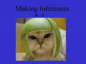 Making Inferences K 2 This book introduces the