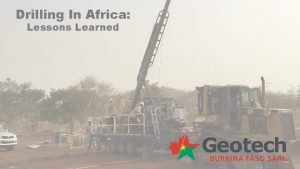 Drilling In Africa Lessons Learned Lesson Learned 1