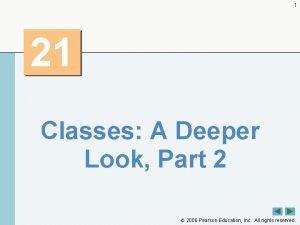 1 21 Classes A Deeper Look Part 2