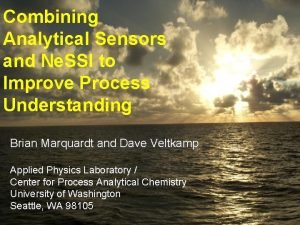Combining Analytical Sensors and Ne SSI to Improve