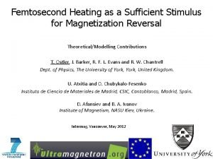 Femtosecond Heating as a Sufficient Stimulus for Magnetization