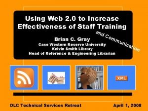 Using Web 2 0 to Increase Effectiveness of