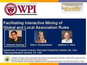 Facilitating Interactive Mining of Global and Local Association