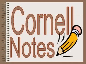 Cornell note taking stimulates critical thinking skills Note