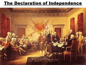 The Declaration of Independence Who wrote the Declaration