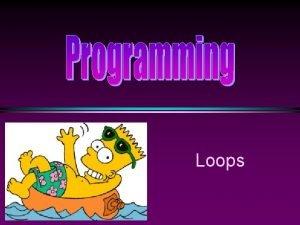 Loops COMP 104 Loops Slide 2 Shortcut Assignment