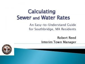 Calculating Sewer and Water Rates An EasytoUnderstand Guide
