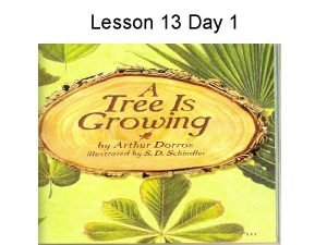 Lesson 13 Day 1 Question of the Day