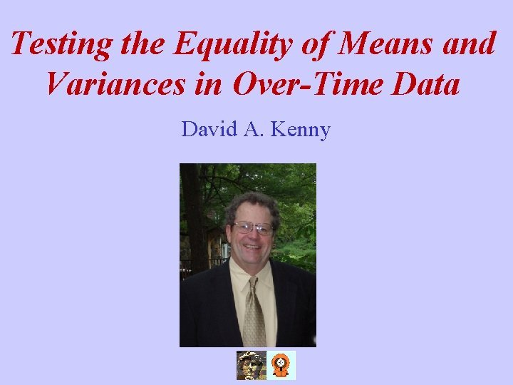 Testing the Equality of Means and Variances in