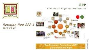 SPP Smbolo de Pequeos Productores Reunin Red SPP