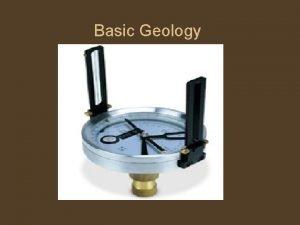 Basic Geology Rock groups 1 Igneous rocks Are