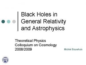 Black Holes in General Relativity and Astrophysics Theoretical