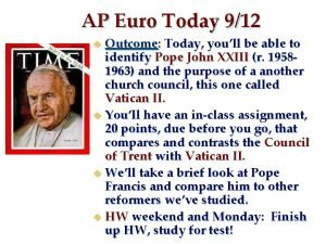 AP Euro Today 912 Outcome Today youll be