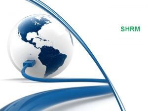 SHRM EVOLUTION OF SHRM PERSONAL MANAGEMENT Part of