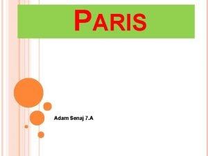 PARIS Adam Senaj 7 A MUSEUM LOUVER Museum