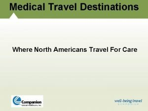 Medical Travel Destinations Where North Americans Travel For