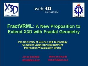Fract VRML A New Proposition to Extend X
