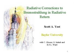 Radiative Corrections to Bremsstrahlung in Radiative Return Scott