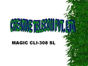 MAGIC CLI308 SL CPU CARD CONSISTS OF FOLLOWING