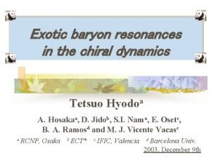 Exotic baryon resonances in the chiral dynamics Tetsuo