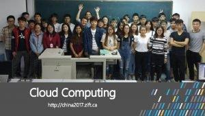Cloud Computing 5 10 https intl aliyun com