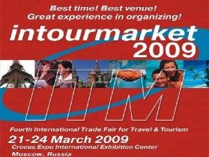 15 18 March International Trade Fair for Travel