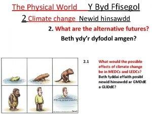 The Physical World Y Byd Ffisegol 2 Climate