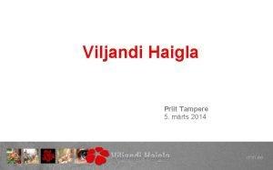 Viljandi Haigla Priit Tampere 5 mrts 2014 SA