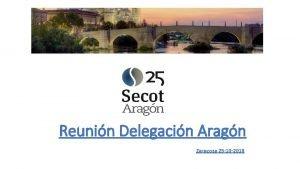 Reunin Delegacin Aragn Zaragoza 25 10 2018 LO