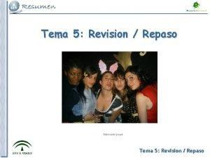 Tema 5 Revision Repaso Elaboracin propia Tema 5