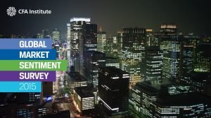 ABOUT THE SURVEY The CFA Institute 2015 Global