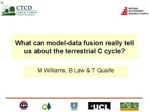 What can modeldata fusion really tell us about