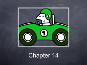 Chapter 14 Emotions Driving How can emotions affect