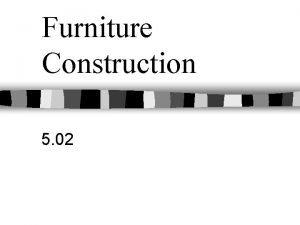 Furniture Construction 5 02 Types of Wood Hardwoods