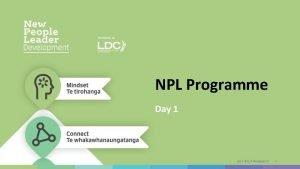 NPL Programme Day 1 JULY 2019 Release 01