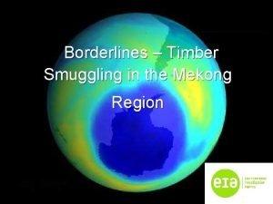 Borderlines Timber Smuggling in the Mekong Region Mekong